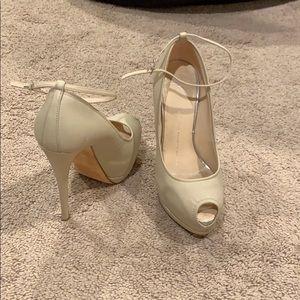 Giuseppe zanotti natural heels
